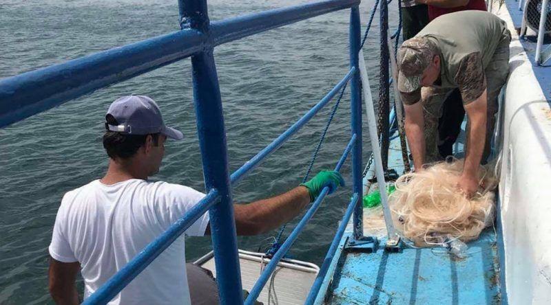 14 redes ilegales sacadas del lago Sevan
