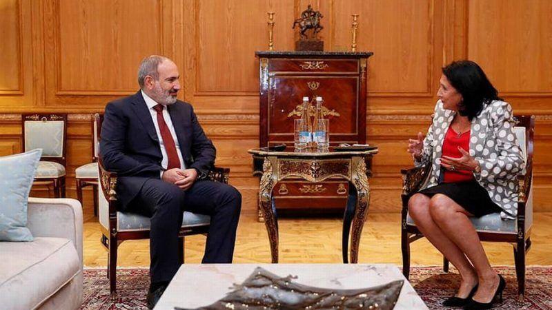 Pashinyan agradeció al gobierno de Georgia el trato a la comunidad armenia