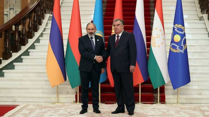 Armenia acaba de asumir la presidencia de la OTSC durante un año
