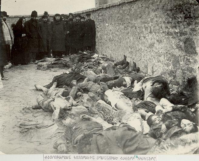 A 103 años del Genocidio armenio en Bakú