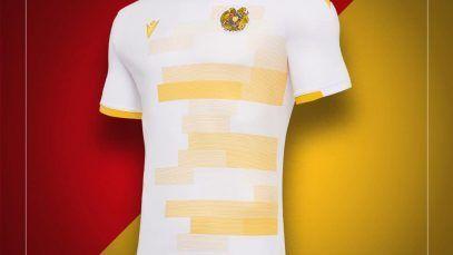 Cambian a damasco las camisetas de la selección de Armenia