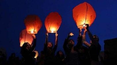 Ereván y Stepanakert iluminarán el cielo con globos el 31 de diciembre