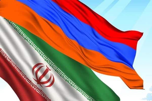 iran armenia bandera