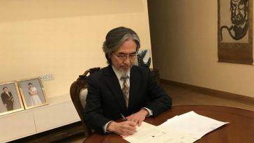 Jun Yamada, Embajador de Japón en Ereván