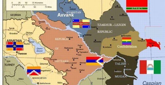 mapa indigena caucaso