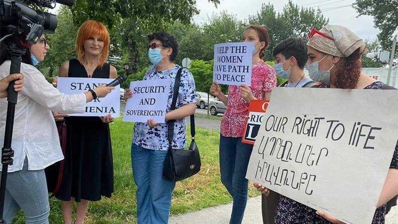 Mujeres de Armenia pide al Gobierno denuncie a Bakú ante la ONU