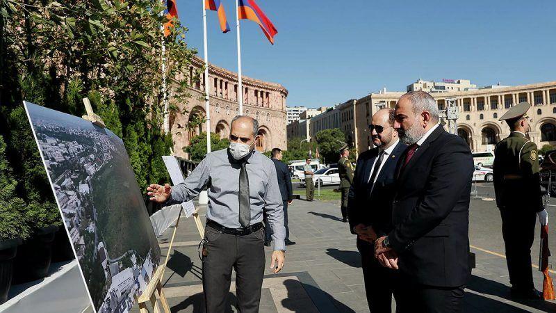 Presentan el proyecto del Parque de la Vida en Ereván