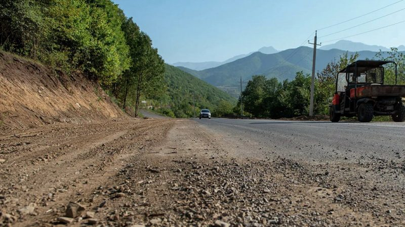 La carretera alternativa Goris-Kapan estará lista en noviembre