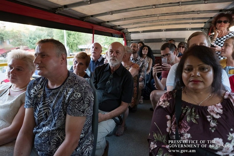 Llegaron más turistas de Rusia, Irán y Georgia a Armenia