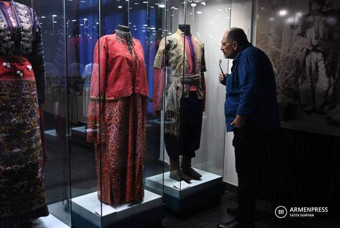 Exponen 140 tipos de vestimentas nacionales armenias